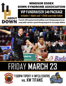 Windsor Express VIP Fundraiser for UAD! @ WFCU
