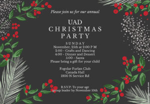 6-12 Age Group Small Christmas Party @ Atlas Tube Center | Lakeshore | Ontario | Canada