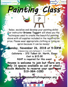 November Painting Class