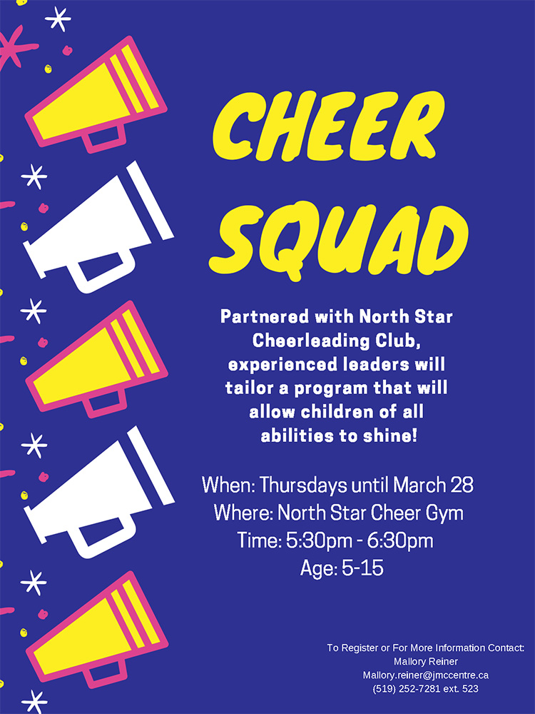 Cheer Squad @ John McGivney Children's Centre | Windsor | Ontario | Canada