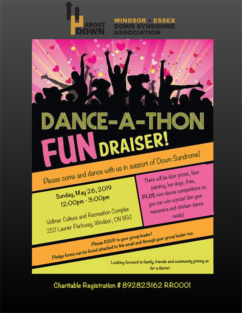 Dance-a-Thon FUNdraiser @ Vollmer Culture and Recreation Complex | Windsor | Ontario | Canada