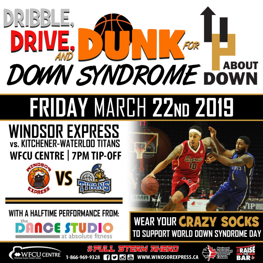 dunk for down syndrome